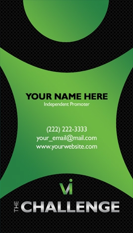 Visalus business card design 3 reheart Choice Image