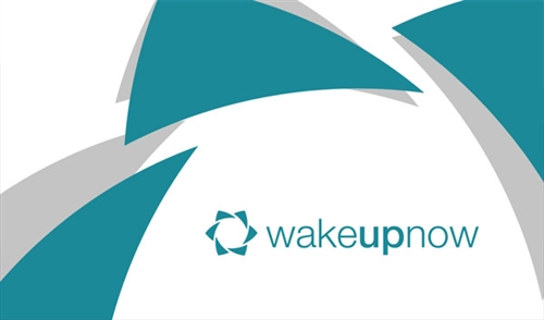 Wake up business card design 3 reheart Images