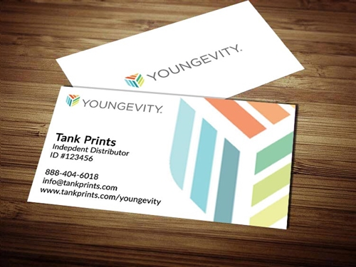 youngevity business card template 1