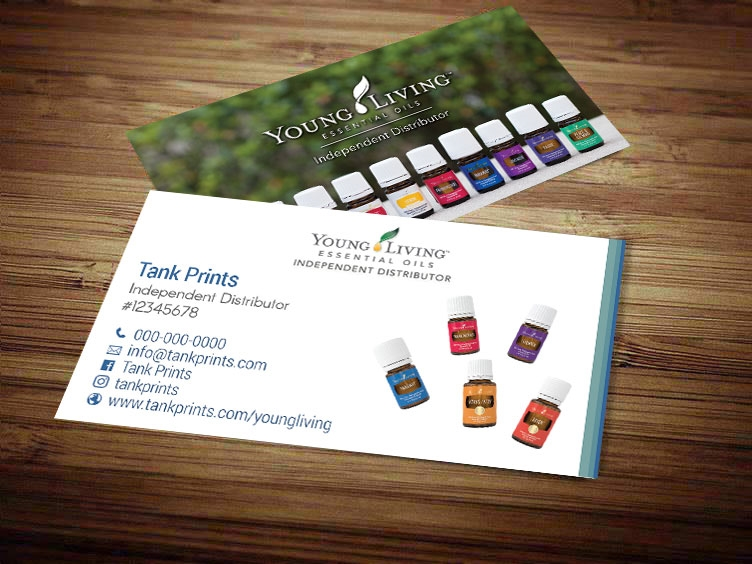 Young living business cards tank prints 46 reviews colourmoves