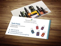 young living business CBD business cards