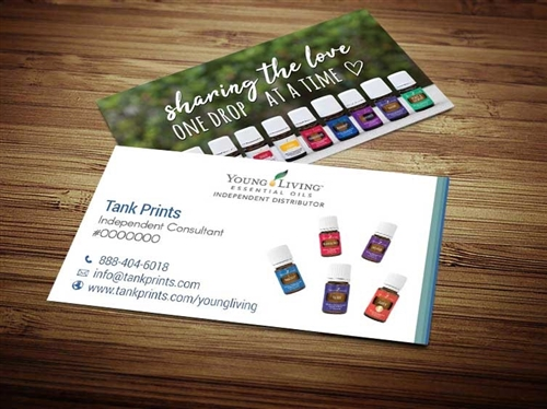 young living business business cards