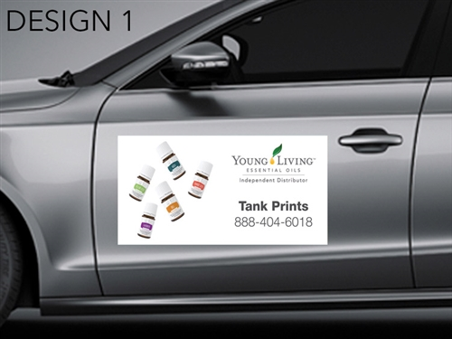 Young Living Car Magnets