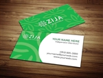 zija business card template