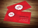Zrii business card template 3