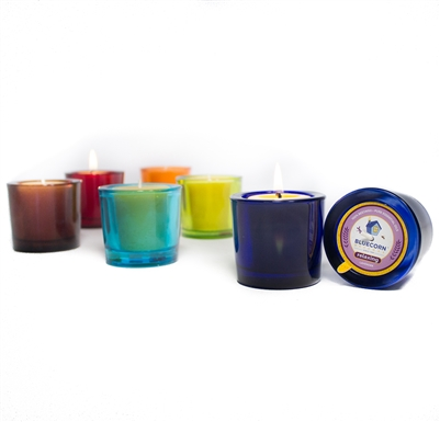 Aromatherapy Beeswax - Heavy Glass Votive