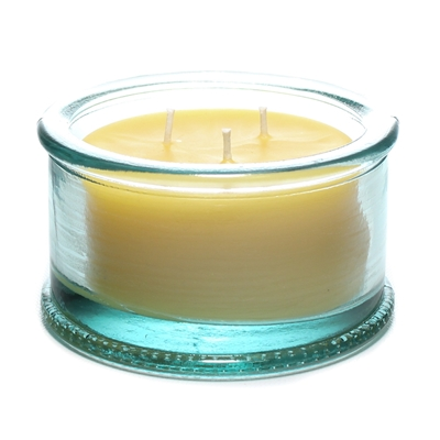 Spanish 3 Wick Candle - 100% Recycled Glass