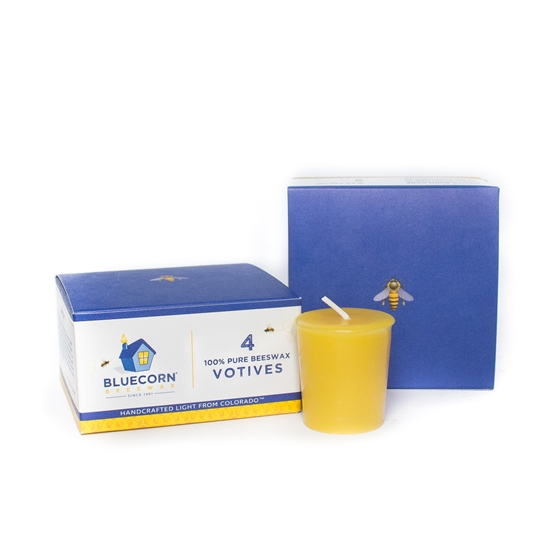 100% Pure Beeswax Votives