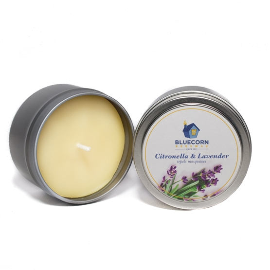 Citronella-Lavender Beeswax-Soy Travel Tin