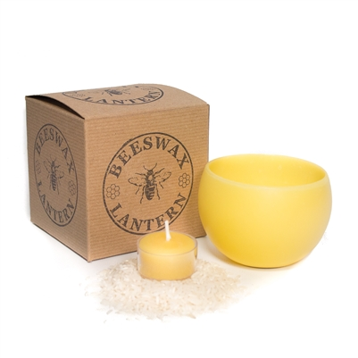 Hollow Beeswax Lantern - CLEARANCE