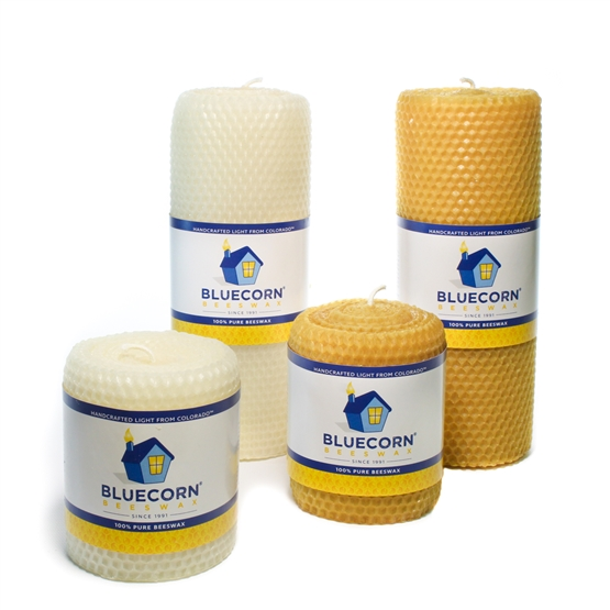 Honeycomb Beeswax Pillars
