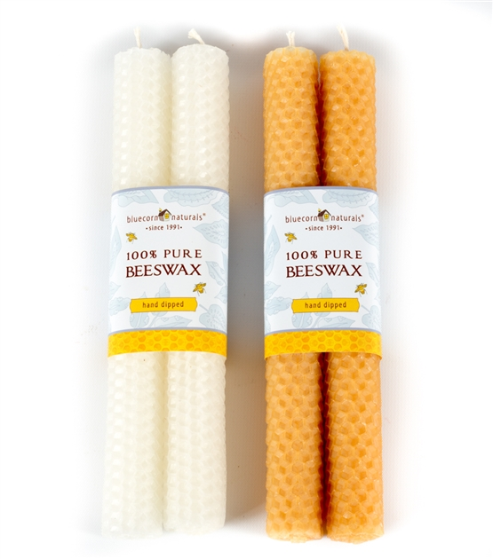 Honeycomb Beeswax Tapers