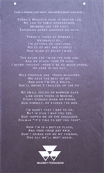 Your poem on slate