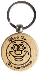 Engraved Wooden Keyring