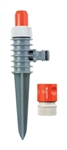 Gardena 969-U 860 Sq ft. Plastic Spike Sprinkler