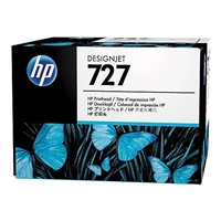 HP DesignJet B3P06A Printhead for plotters T1530, T2530, T930, T2500, T1500, T920 series. HP Designjet print head color black magenta cyan yellow.