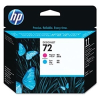 HP 72 C9383A Magenta and Cyan Printhead