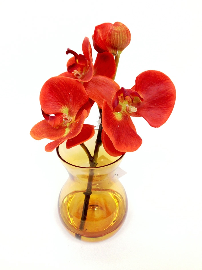 Unique Phalaenopsis Orchid Real Touch Artificial Flower