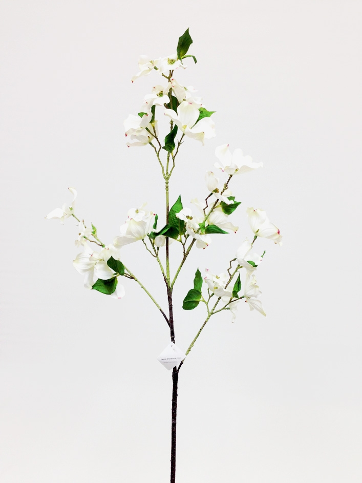 44 silk dogwood flower spray white mightylinksfo