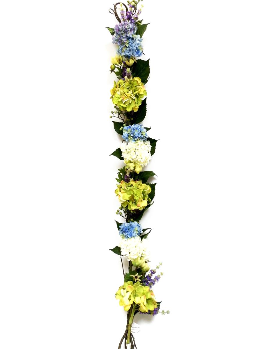 Hydrangea Silk Flower Garland Unique Flowers