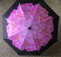 Pink Hibiscus Umbrella