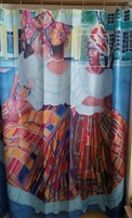 Quadrille Shower Curtain