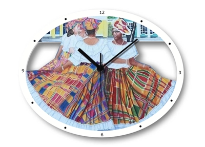 Quadrille Ladies Clock
