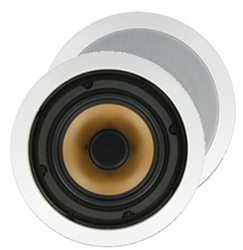"InwallTech™ M65.1C 6 1/2"" Aluminum Ceiling Speakers"