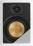 "InwallTech™ M65.1W 6 1/2"" Aluminum Wall Speakers"
