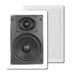 Open Box -- ArchiTech SE691E 5 1/4 in. Small Frame 2 Way In wall Speakers