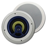 JA Audio Fully Rotating 6 1/2 in. Ceiling Speakers