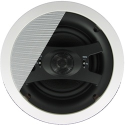 "InwallTech HD-650C High Definition 6 1/2"" Virtually Invisible Ceiling Speakers"