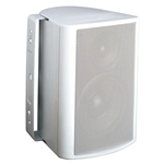 "5-1/4"" Indoor/Outdoor Cabinet Speaker (White). Woofer made from Genuine DuPont� Kevlar� Fiber"