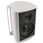"6-1/2"" Indoor/Outdoor Cabinet Speaker (White). Woofer made from Genuine DuPont� Kevlar� Fiber"