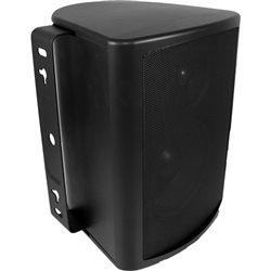 "8"" Indoor/Outdoor Cabinet Speaker (Black). Woofer made from Genuine DuPont� Kevlar� Fiber"