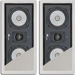 JA Audio 5 1/4 in. 2-way In-Wall LCR (Left, Center, Right or Rear) Speakers