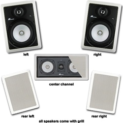 JA Audio Theater Pack for 5.1 Surround Systems