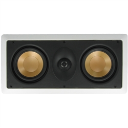 "InwallTech M525.1LCR 5 1/4"" Dual Aluminum LCR Theater Speakers"