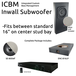 Inwall Subwoofer Kit #1