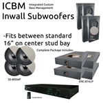Inwall Subwoofer Kit #4