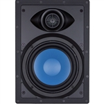 "InwallTech® TM6W 6 1/2"" Virtually Invisible Aluminum Wall Speaker --Each"