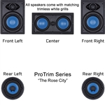 InwallTech Home Theater Kit --The Rose City