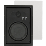 "InwallTech HD-650.2W High Definition 6 1/2"" Virtually Invisible Wall Speakers"