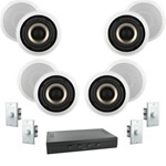 Complete Multi Room Audio System 4 Rooms -Better System