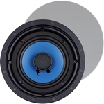 "InwallTech TM6C 6 1/2"" Aluminum Virtually Invisible Ceiling Speakers"