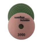 "Part#  113000 Weha 4"" granite diamond polishing pad 3000 Grit"
