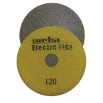"Weha 4"" Electro Flex Marble Electroplated Diamond Polishing Pad 120 Grit"