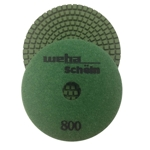 "Part#  114800 4"" Weha Schein Diamond Polishing Pad 800 Grit"