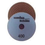 "Part#  115400 5"" Weha Schein Diamond Polishing Pad 400 Grit"