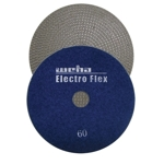 "Weha 5"" Electro Flex Marble Electroplated Diamond Polishing Pad 60 Grit"
